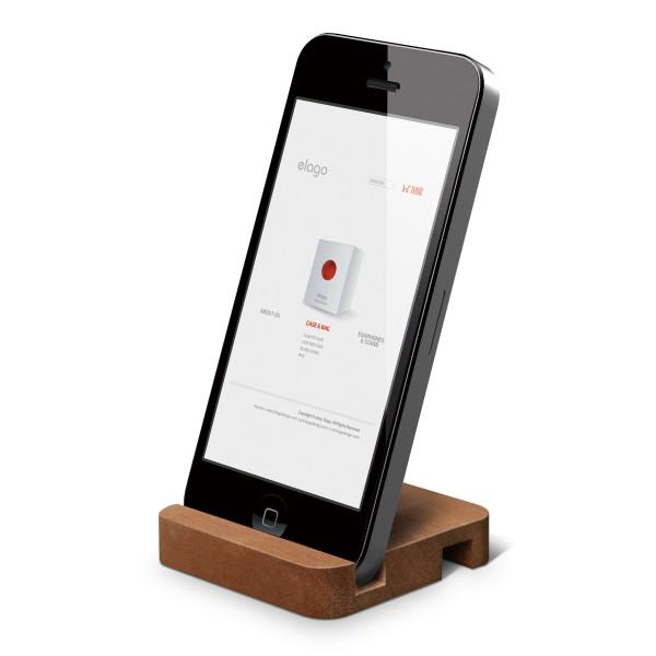 Elago Wooden iPhone Stand