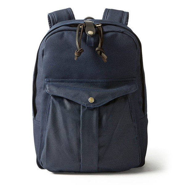 Filson Twill Backpack, Navy