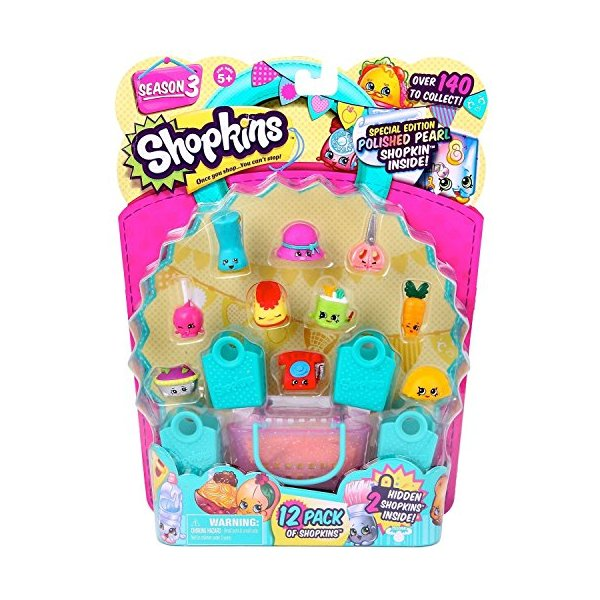 Shopkins Season 3 (12-Pack) - Characters May Vary