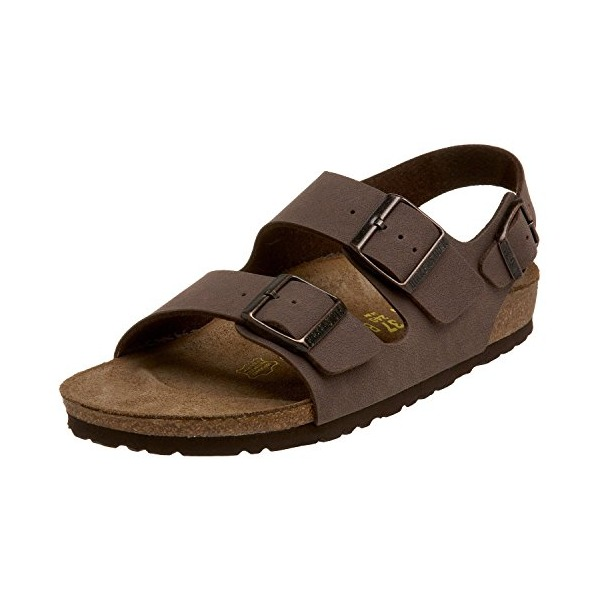Birkenstock Milano Sandal,Mocha Birkibuc,39 M EU