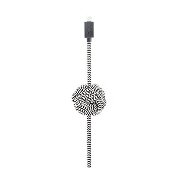Native Union Night Cable Micro USB Cable (Zebra)