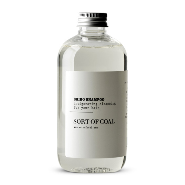 Sort of Coal Shiro Activated Charcoal Shampoo