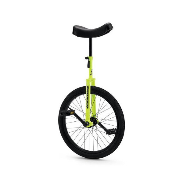 Torker Unistar CX Unicycle, 20-Inch/One Size, Hi-Lighter Yellow