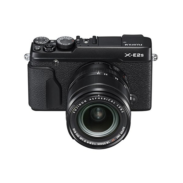Fujifilm X-E2S Mirrorless Camera w/XF18-55 Lens Kit (Black)