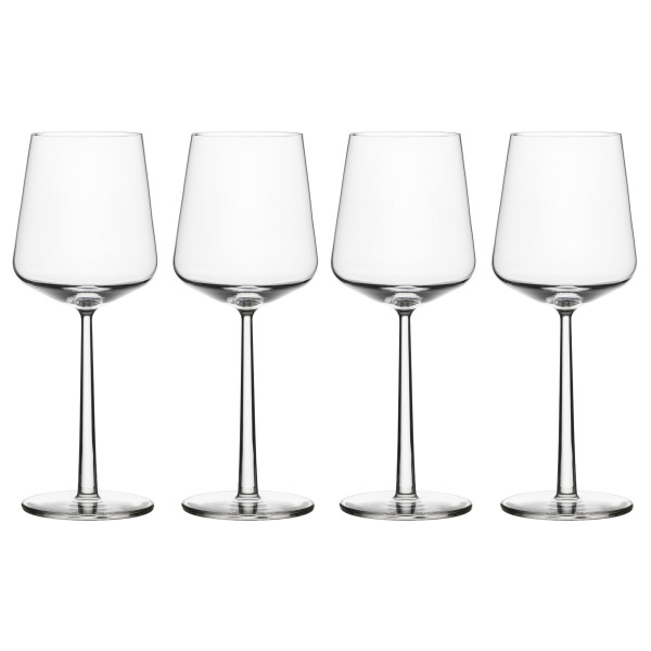 Iittala Essence Red Wine Glasses, Set of 4, Clear