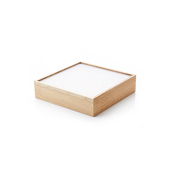 ObjectBox Large Wooden Storage Box - White