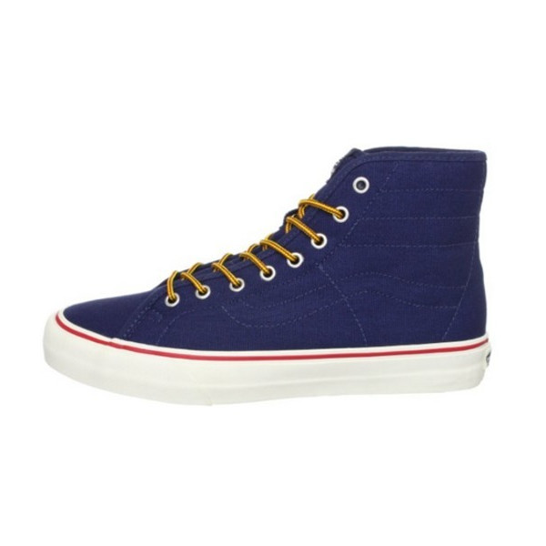 Vans Unisex Sk8-hi Binding Ca Dress Blues