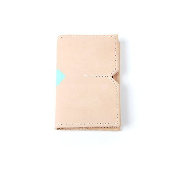 Tan Leather Notebook Case with Notebook and Pen
