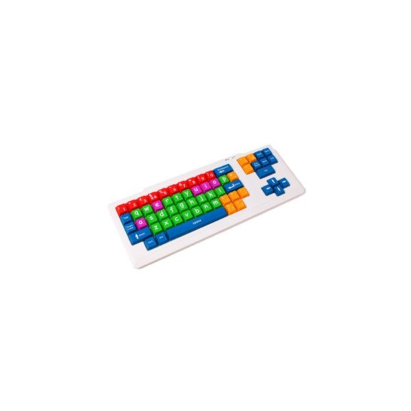 Special Needs Lower Case Qwerty Coloured Keyboard