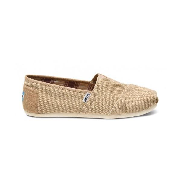 TOMS Mens Classics Shoe Burgandy Farrin
