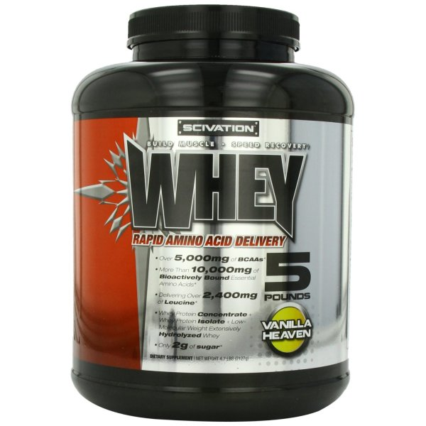 Scivation Scivation Whey, Vanilla, 4.7 Pounds