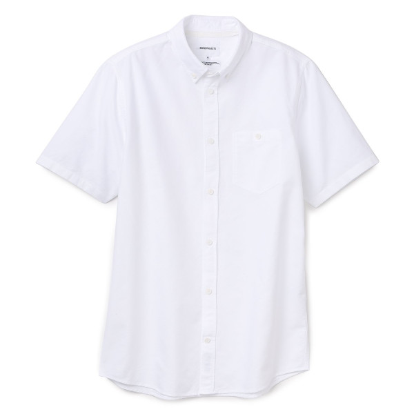 Norse Projects Men's Anton Oxford Shirt, White