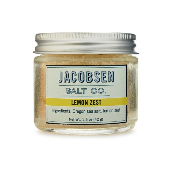 Jacobsen Salt Co. Lemon Zest Flake Sea Salt, 1.5 Oz