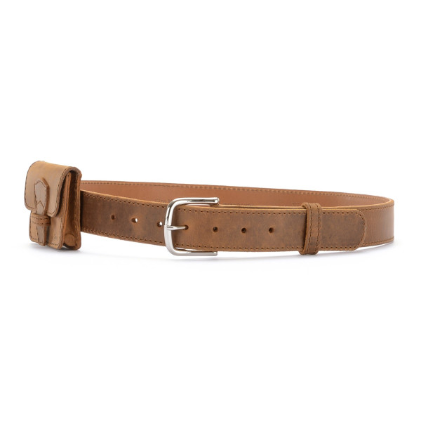 Saddleback Leather Classic Belt for Women, Tobacco