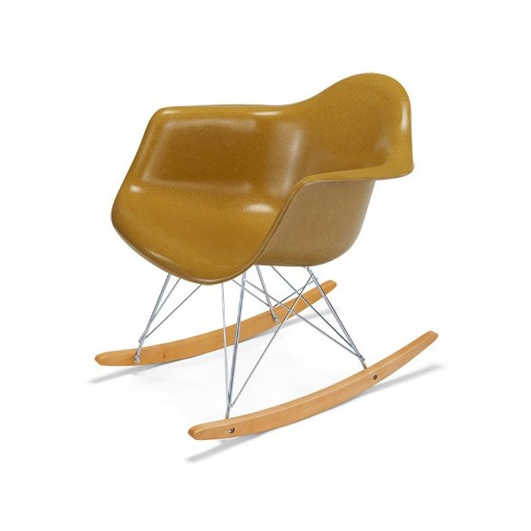 Fiberglass Shell Chair Rocker Arm Shell Modernica