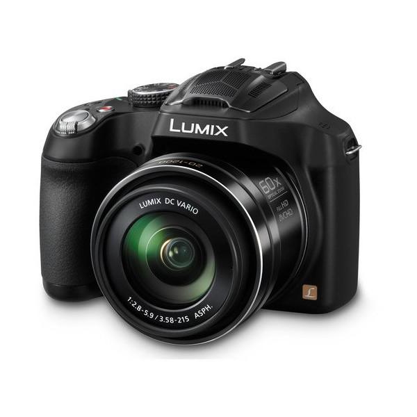 Panasonic Lumix FZ70 digital camera optical 60x Black DMC-FZ70-K + 8GB SDHC Card