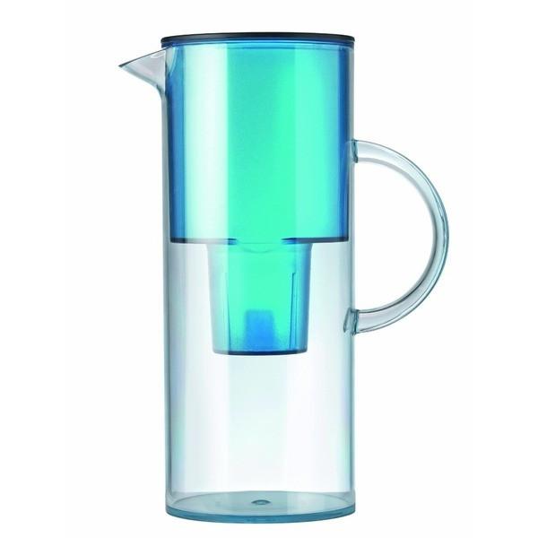 Stelton Water Filter Jug, Aqua