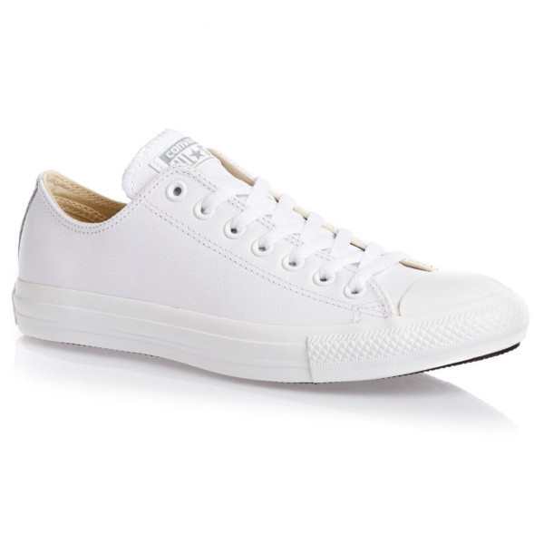 Converse The Chuck Taylor All Star White Leather Sneaker