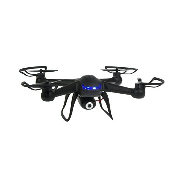 Inguity® HD Camera Drone - 6 Axis Gyro Accelerometer - 4 Channel Radio - 2.4gHz 300ft Range Stealth Design - 2MP HD Camera - Micro Mini Nano Quadcopter Drone Toy - US Customer Tech Support - Full 30 Day Warranty