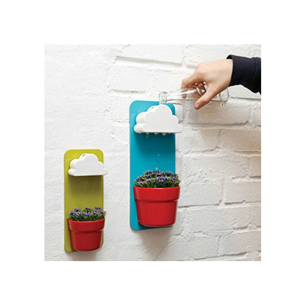 Plastic Creative Clouds Rainy Pot Wall-hung Flower Pot