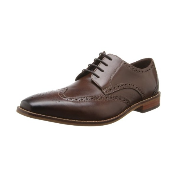 Florsheim Men's Castellano Wing Oxford,Brown,12 D US