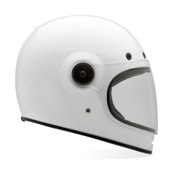Bell Bullitt Sports Bike Motorcycle Helmet, Solid White