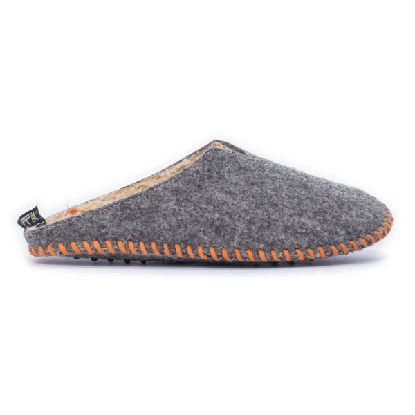 Woolrich Women's Felt Mill Scuff Slipper, Steel Gray