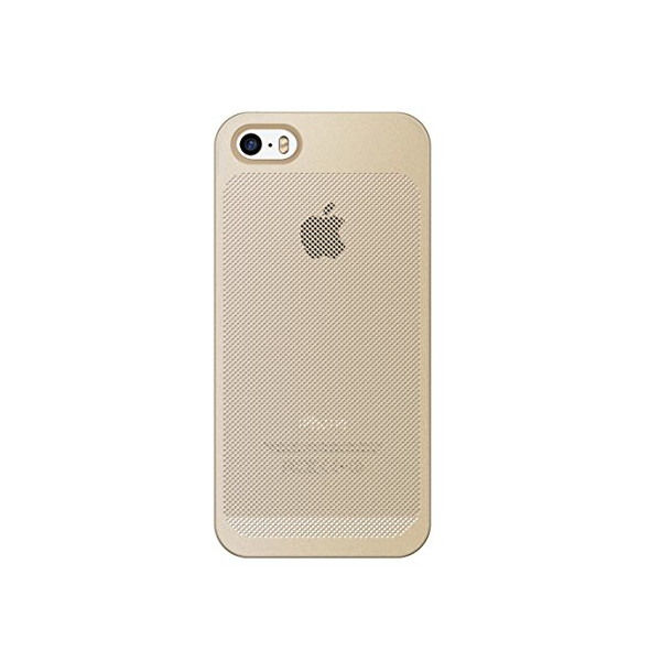 7mm Dieslimest Duo:mesh Gold Dot Gold Case for Iphone5 / 5s