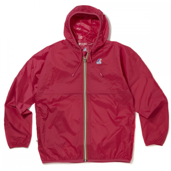 K-Way Claude Full Zip Jacket Small Red