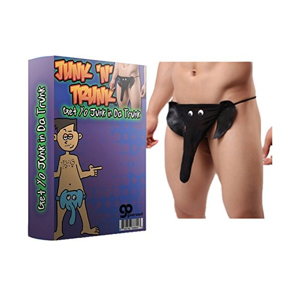 Junk N' Trunk - Funny Men's Underpants - Elephant Undies