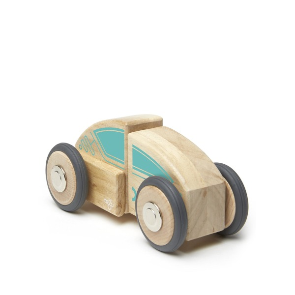 Tegu Circuit Racer Magnetic Wooden Block Set
