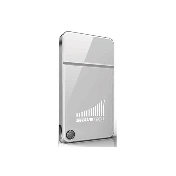 Shavetech USB Rechargeable Travel Razor (White)