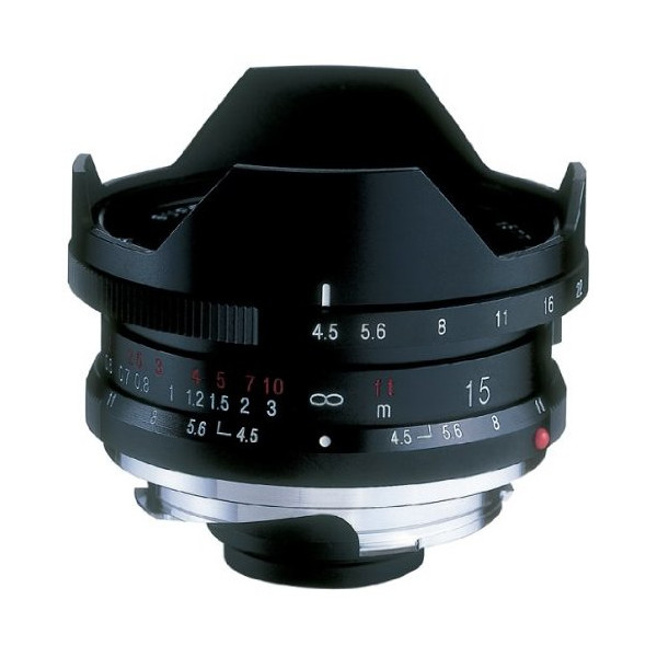COSINA VoightLander SUPER WIDE HELIAR 15mm F4.5 Aspherical II