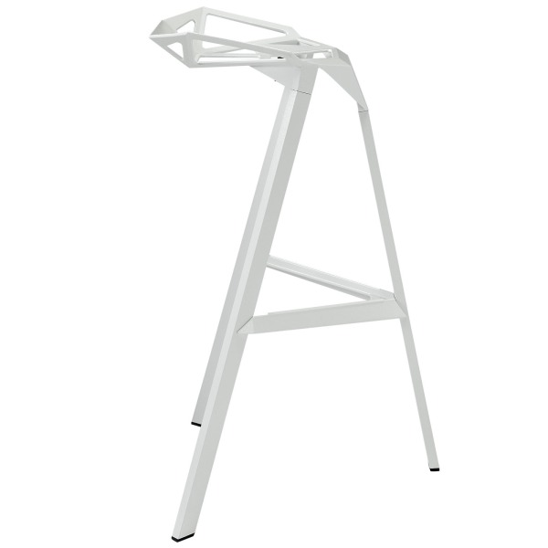 Konstantin Grcic White Bar Stool