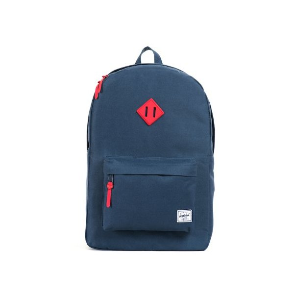 Herschel Supply Co. Heritage Weather Pack, Navy/Red, One Size
