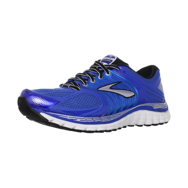 Brooks Men's Glycerin 11 Running Shoes, Color: BrllntBlu/Skydvr/Slvr/Blck/Wht, Size: 11.5