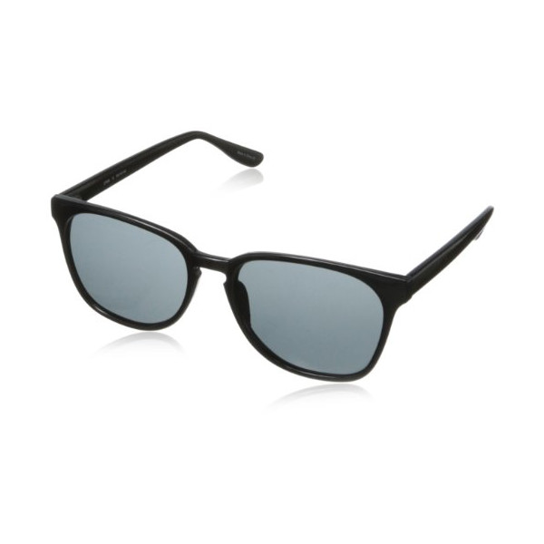 Cole Haan Men's C 7048 10 Wayfarer Sunglasses,Black,55 mm