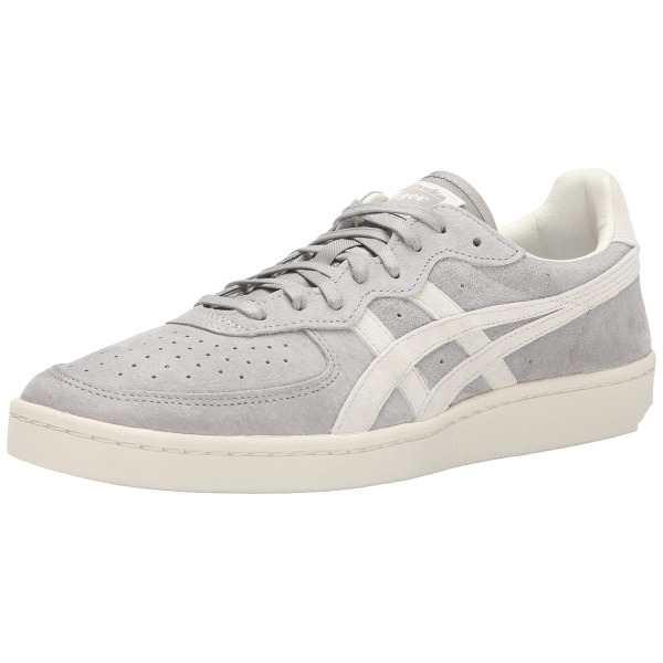 Onitsuka Tiger OT Tennis Shoe, Light Grey/Off White, 8 M US