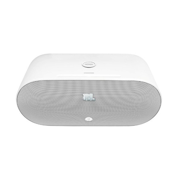 Nokia MD-100W JBL PowerUp Wireless Charging Speaker for Nokia - Retail Packaging - White