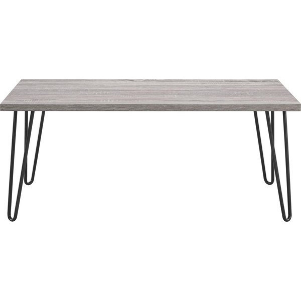 Altra Furniture Owen Retro Coffee Table with Metal Legs