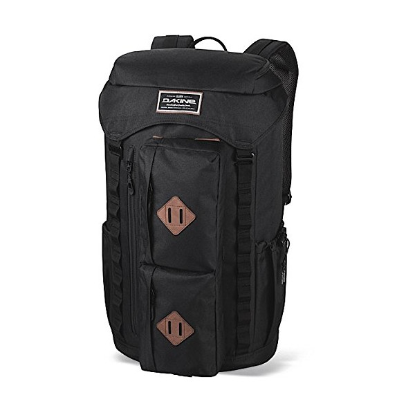 Dakine Compass Laptop Backpack, Black, 38-Liter