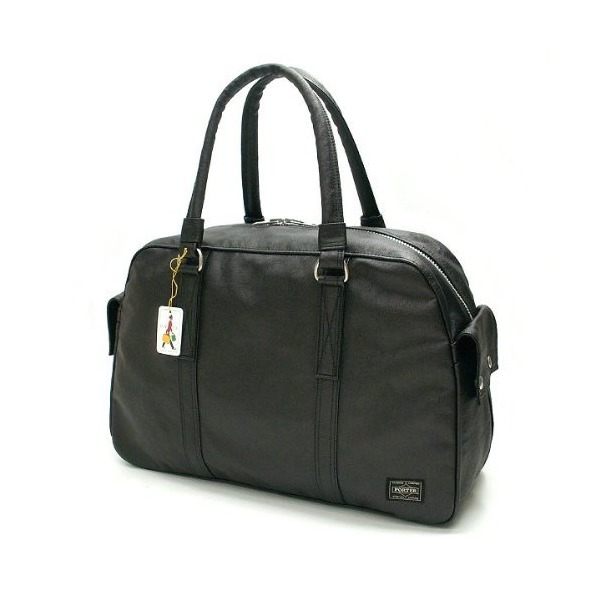 Porter Freestyle Boston Bag 07171 Black / Yoshida Bag