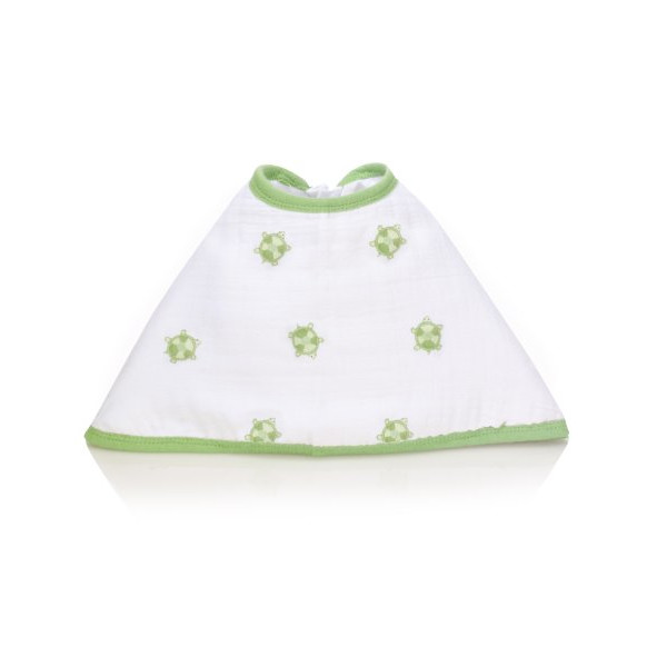 aden by aden + anais Burpy Bib Single, Life's A Hoot - Turtle
