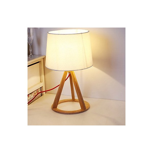 QJYB- Brief Fashion Modern The Nordic / IKEA Full Wood Table Lamps Desk Lights Study Reading Lighting , 110-120V