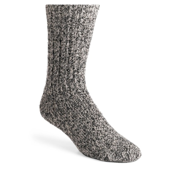 Wigwam Men's El Pine Crew Socks, Salt & Pepper