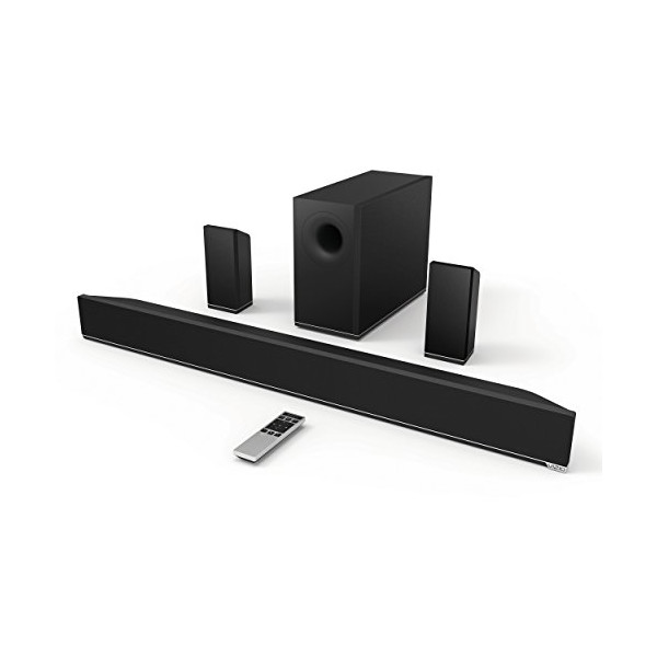 "VIZIO S3851w-D4 38"" 5.1 Channel Sound Bar with Wireless Subwoofer & Rear Satellite Speakers"