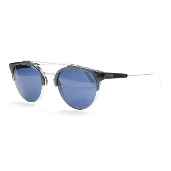 RETROSUPERFUTURE Giguaro Navy Beige w/ Blue Lenses