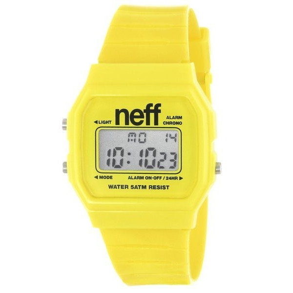 Neff Old School Flava Yellow Watch