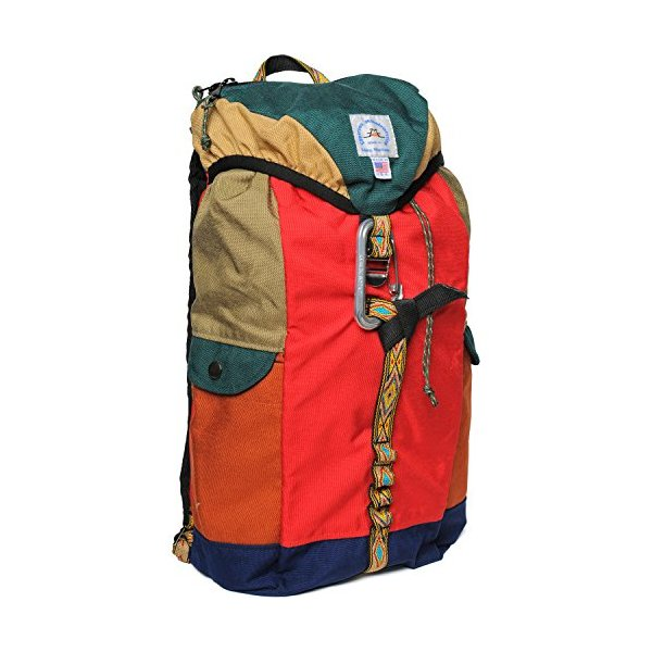 Epperson Mountaineering Climb Backpack Forest Green Burn Red