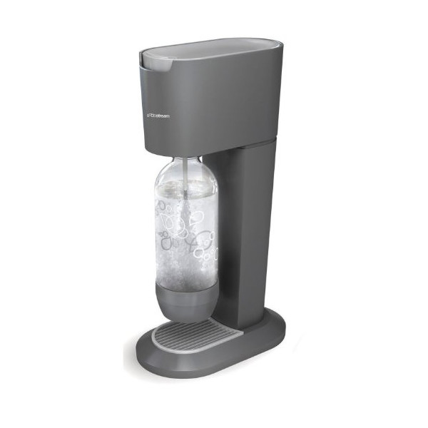 SodaStream 1017512018 Genesis Home Soda Maker, Black and Silver